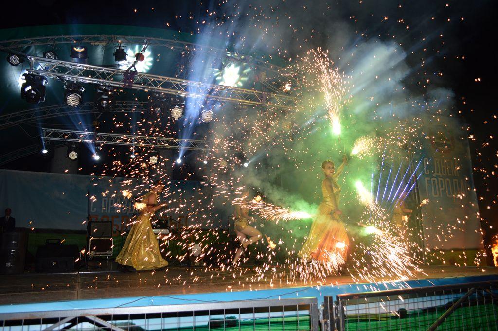 Ярко и зажигательно в Доброполье отпраздновали День города и День шахтера, фото-15