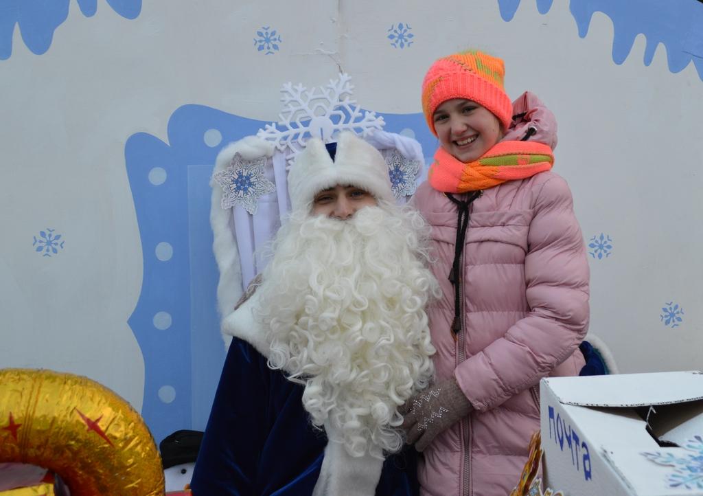 Вчора в Добропіллі відсвяткували Старий Новий рік, фото-2