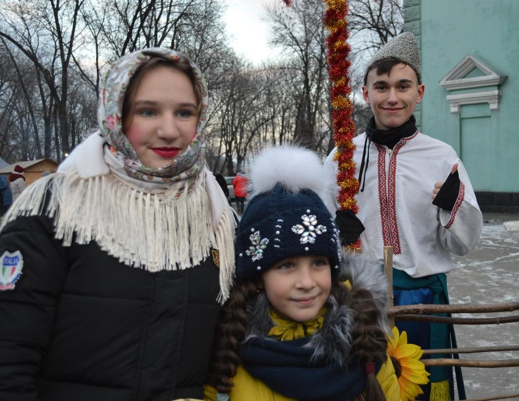 Вчора в Добропіллі відсвяткували Старий Новий рік, фото-4