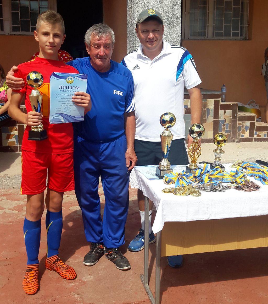 Футболісти Добропіллля - переможці Всеукраїнських фінальних змагань на першість ГО ВФСТ «Колос», фото-2