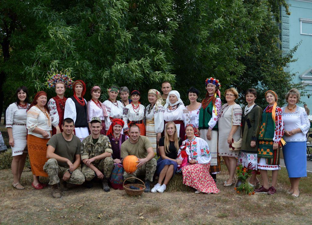У Добропіллі пройшов фестиваль «Етно-осінь», фото-1