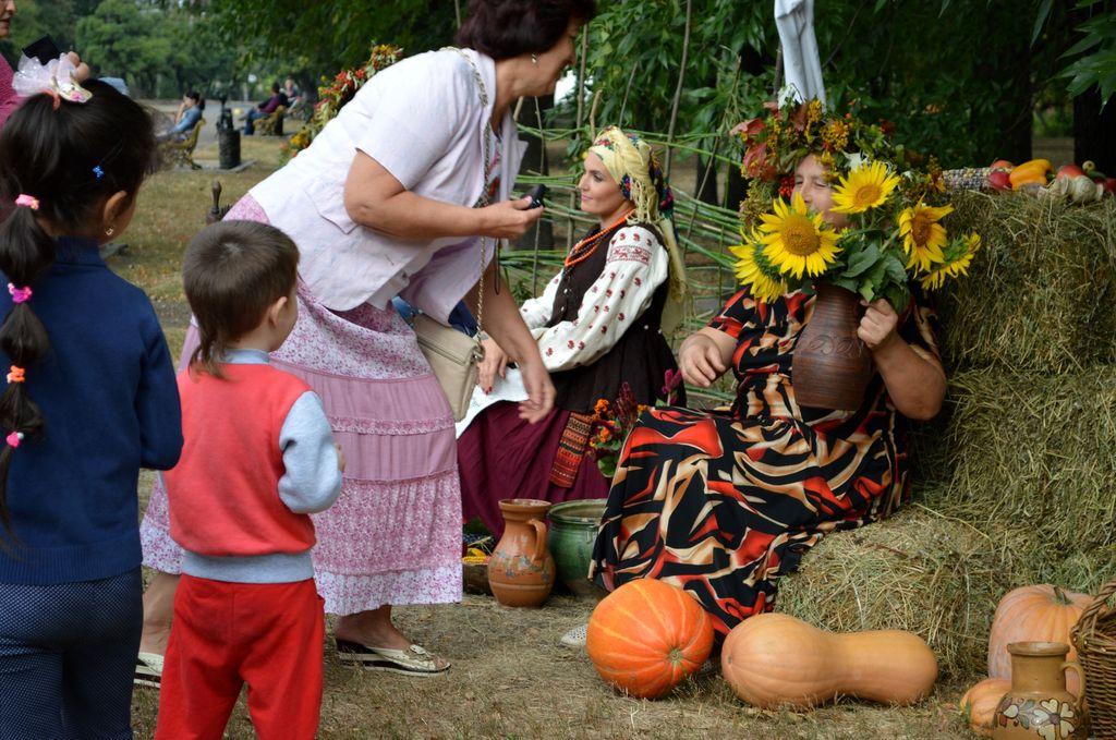 У Добропіллі пройшов фестиваль «Етно-осінь», фото-4