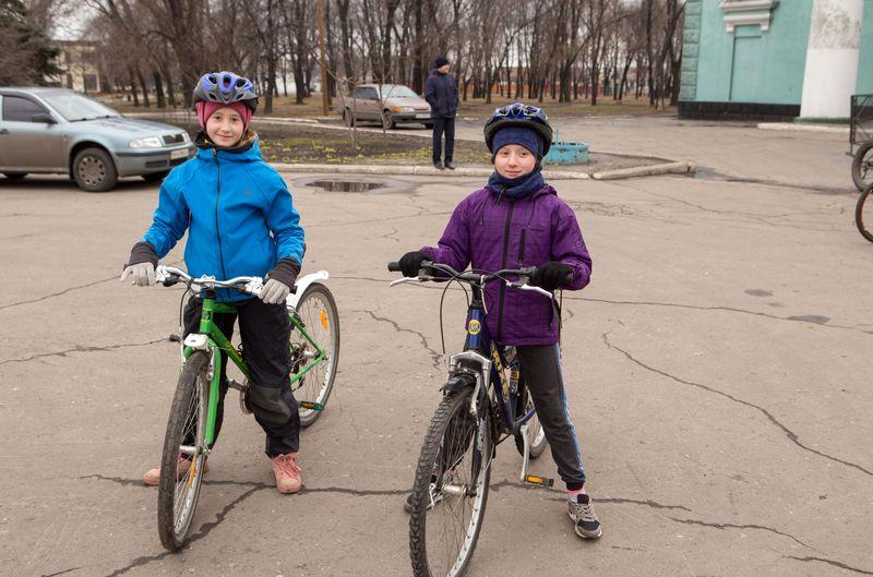 У Добропіллі провели благодійний велопробіг на підтримку Марія Ламанової, фото-1