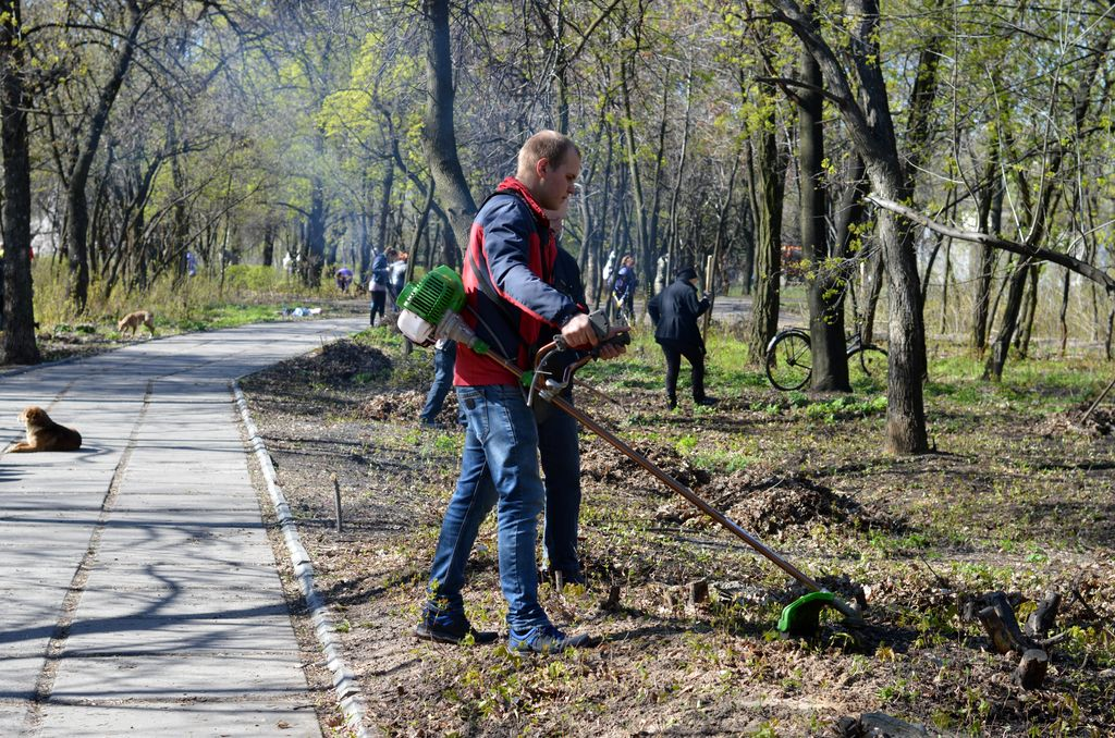 В Добропіллі відбулась загальноміська толока, фото-4
