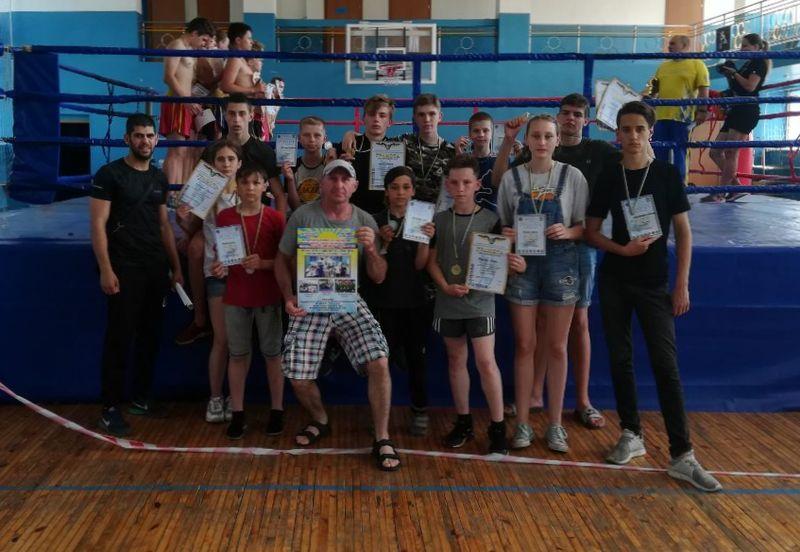 Спортсмени Великого Добропілля вдало виступили на відкритому турнірі з кікбоксингу WAKO «Кубок Донбасу», фото-1