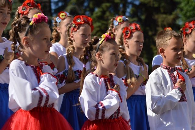 Сьогодні в Добропіллі відзначили 23-тю річницю Конституції України, фото-2