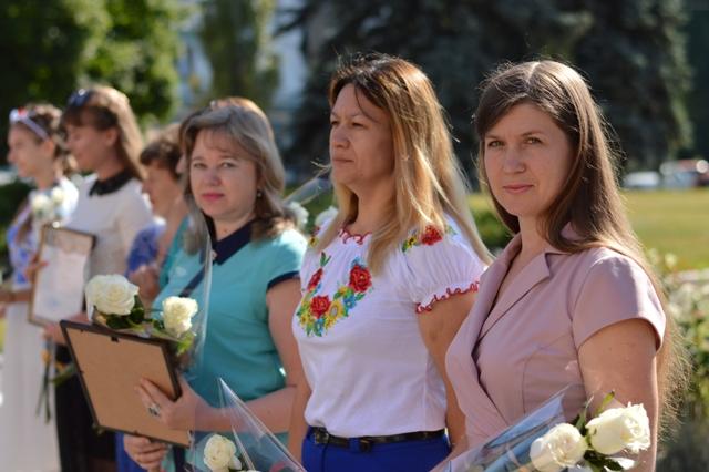 Сьогодні в Добропіллі відзначили 23-тю річницю Конституції України, фото-3