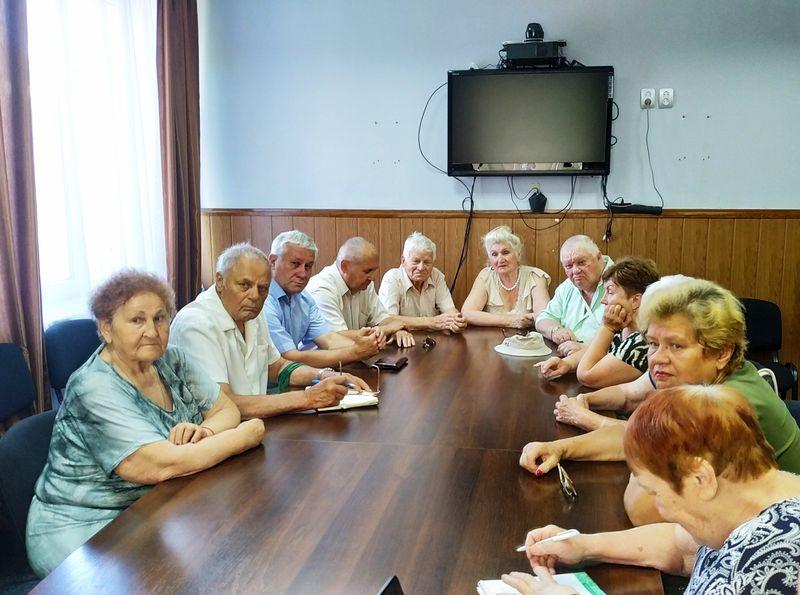 У Добропіллі відбулось засідання ради ветеранів, фото-1