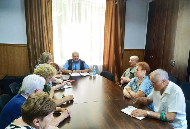 У Добропіллі відбулось засідання ради ветеранів, фото-2