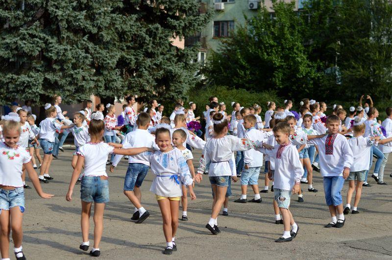 В Добропіллі відсвяткували День Державного Прапора України, фото-5