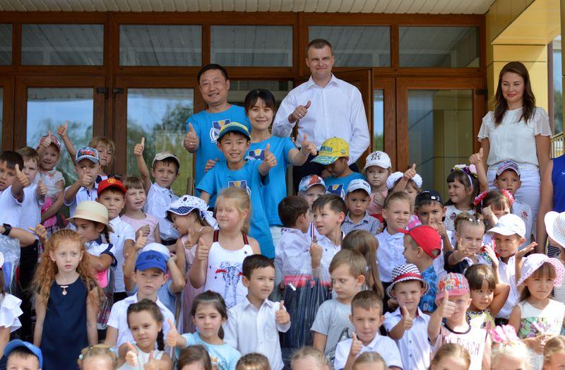 В Добропіллі зустріли делегацію з Китаю, фото-12