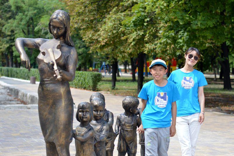 В Добропіллі зустріли делегацію з Китаю, фото-13