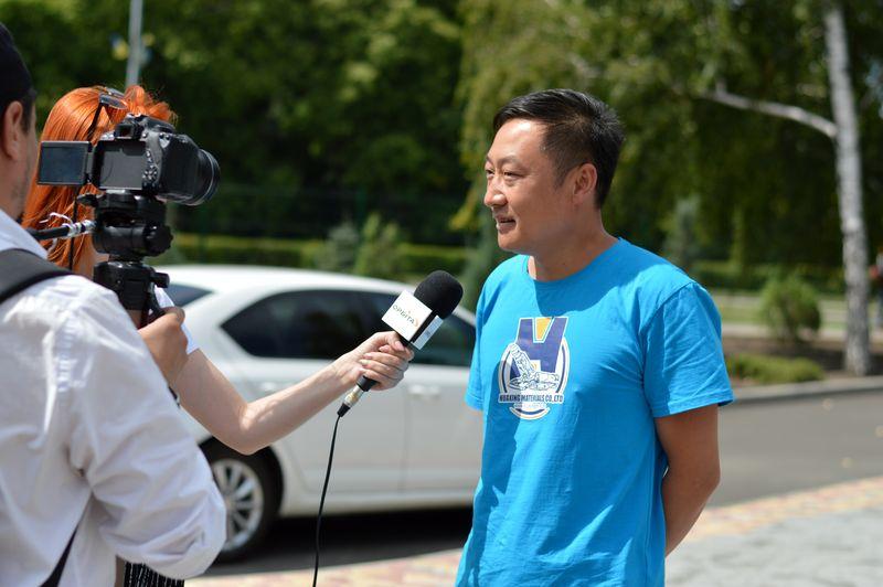 В Добропіллі зустріли делегацію з Китаю, фото-9