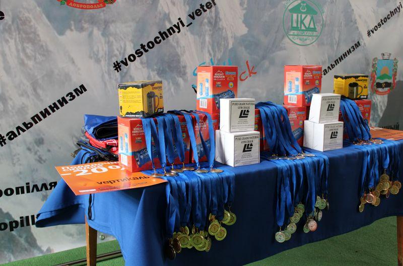 В Добропіллі пройшов Відкритий чемпіонат міста зі скелелазіння, фото-1