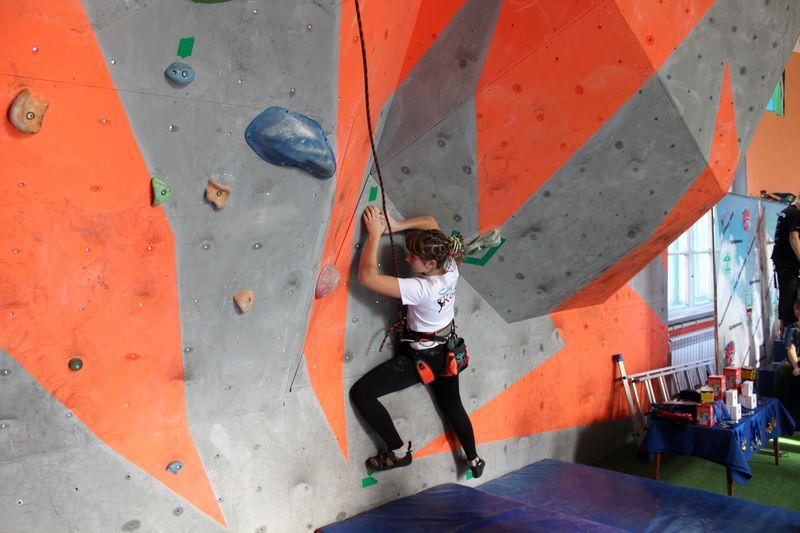 В Добропіллі пройшов Відкритий чемпіонат міста зі скелелазіння, фото-6