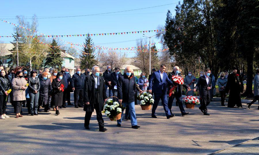 У Добропіллі вшанували пам'ять загиблих під час ліквідації аварії на ЧАЕС, фото-4