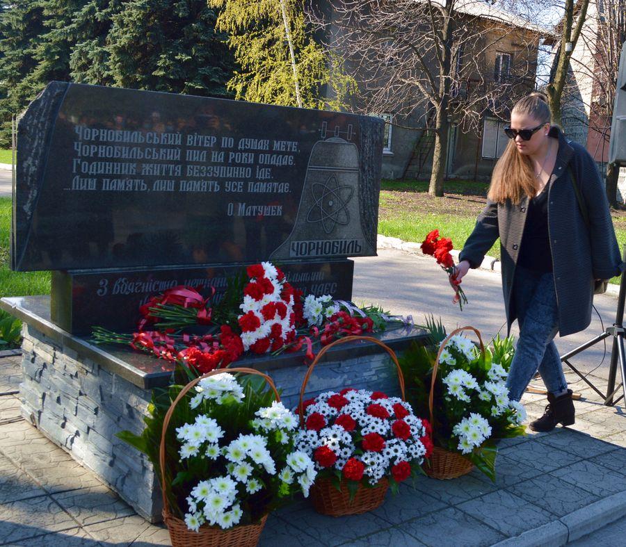 У Добропіллі вшанували пам'ять загиблих під час ліквідації аварії на ЧАЕС, фото-5