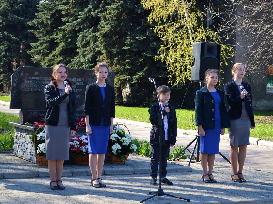 У Добропіллі вшанували пам'ять загиблих під час ліквідації аварії на ЧАЕС, фото-6